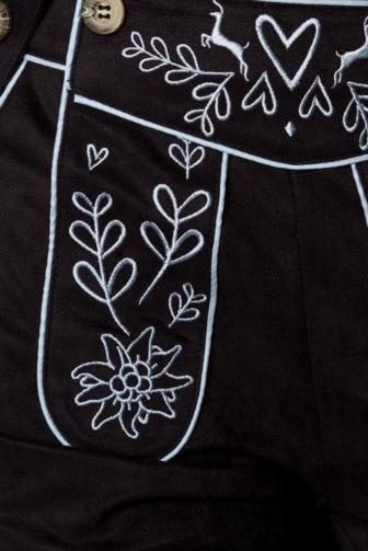 Trachtenhose mit Stickereien