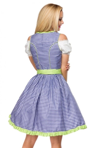 Traditionelles Karodirndl